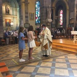 Première des communions des baptisés