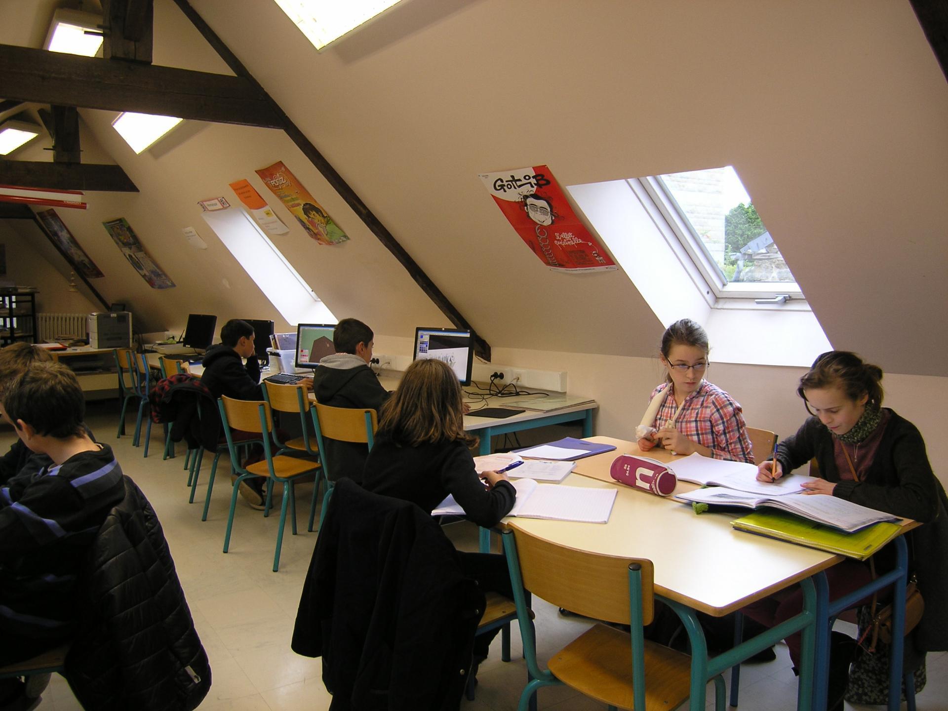 Collège du Sacré coeur - CDI3
