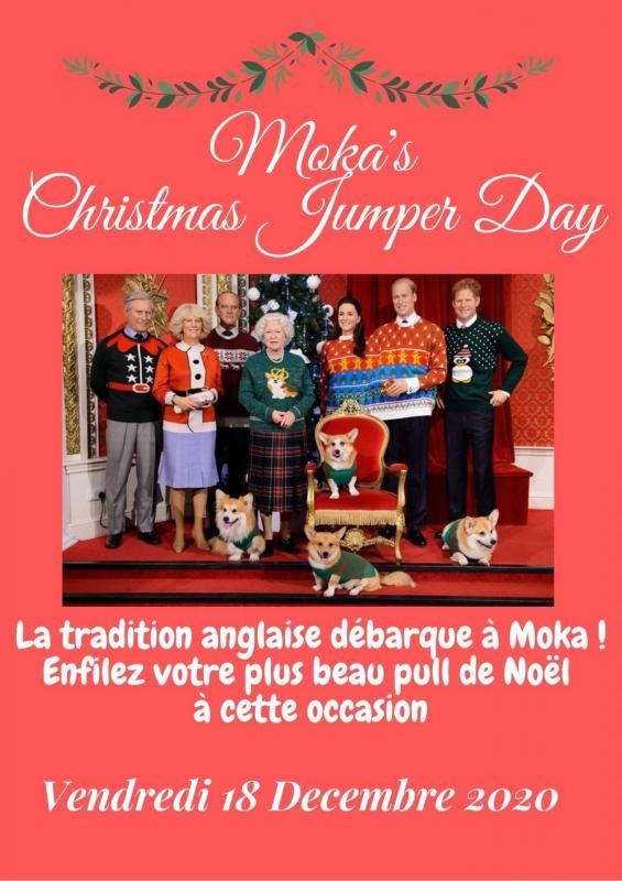 La tradition anglais debarque a moka enfilez votre plus beau pull de noel pour celebrer ensemble l arrivee des fetes 1