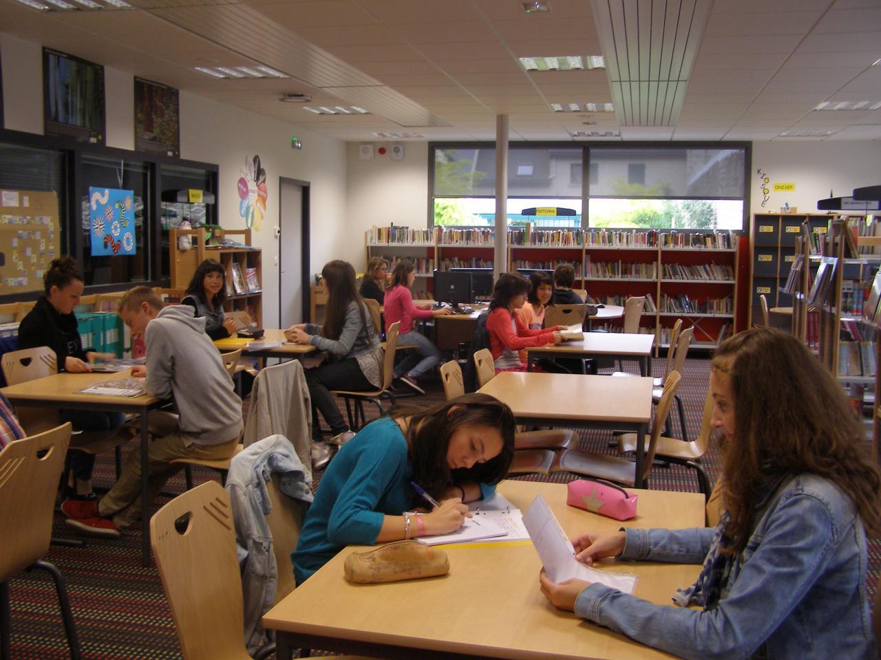 Collège Moka - CDI1